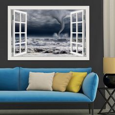 Cheap paper art party supplies, Buy Quality art printer paper directly from China art deco paper Suppliers: 3D Window View Wall Decal Sticker Home Decor Living Room Wood Bridge Seaside Sunset Beautiful Scenery Wallpaper Murals A