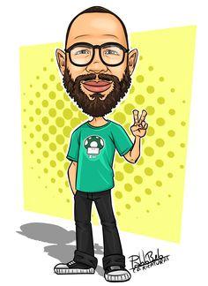 Desenho, Caricatura, Personagem, Caricatura digital, Ilustração.