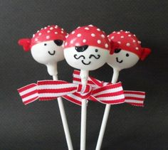 Pirate CakePops!#Repin By:Pinterest++ for iPad#
