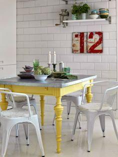 Rescue. Restore. Redecorate.: Zinc Table Tops