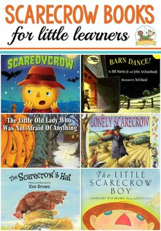 Pre-K books to read. Best Scarecrow Pre-K and Kindergarten books. A list of books about scarecrows for a fall or farm theme for preschool, pre-k, or kindergarten classrooms. Perfect for a harvest theme! Fall Preschool, Preschool Books, Preschool Curriculum, Preschool Themes, September Preschool, Preschool Projects, Homeschool, Scarecrow Crafts, Scarecrows