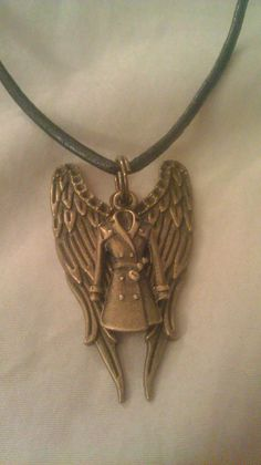 Supernatural Castiel Inspired Pendant Necklace by WitchcraftsGifts, $13.00