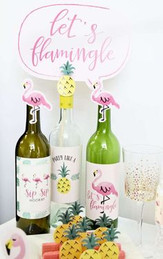 Flamingo - Party Like A Pineapple | CatchMyParty.com