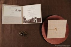 Daniel & Christina Wedding Invitation | Custom Invitations by Printsonalities: Your Personal Invitation Stylist
