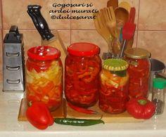 Dulcesarat: Ardei grasi murati Stuffed Peppers, Vegetables, Recipes, Food, Canning, Meal, Stuffed Pepper, Food Recipes, Essen