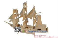 3d puzzle,3d wood jigsaw puzzle,3d diy toy,Best parent-child games,kids toy,fancy toy, intelligence toys, Educational Toys,blocks toys,DIY ship/boat toys,wooden toys, assembling toys,  Wood Atlantic sailing