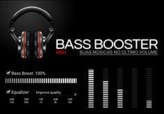 Bass Booster Pro v3.0.1. Que tal ouvir suas músicas no último volume? o som do seu Android é baixo? B Booster resolverá seu problema. O app não querer root!