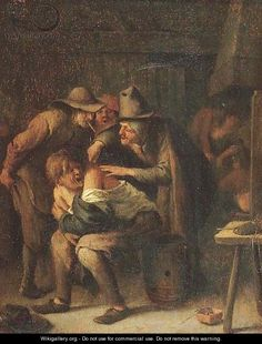 A doctor by Jan Steen