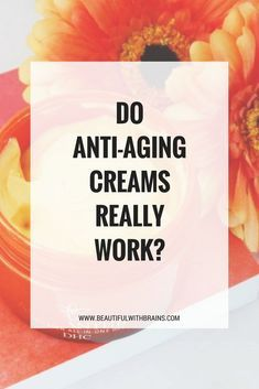 Anti-aging creams can't make you look 10 years younger overnight. But, they help reduce the appearance of wrinkles. Anti Aging Tips, Anti Aging Skin Care, Diy Skin Care, Skin Care Tips, Skin Tips, Beauty Hacks For Teens, Anti Aging Cream, Natural Skin, Natural Beauty