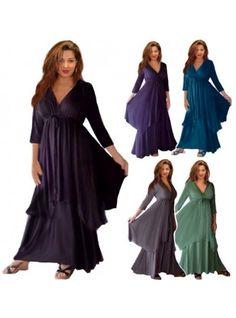 PRE-ORDER - Boho Lagenlook Asymetric Layer Dress
