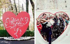 Вдохновение: свадьба в день Св. Валентина