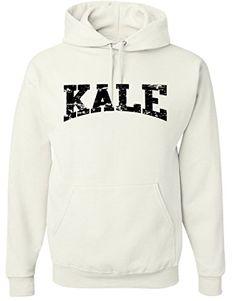 Adult-Kale-Vegan-Vegetarian-Black-Hoodie-Hooded-Sweater Hooded Sweater, Black Hoodie, Kale, Vegan Vegetarian, Mens Fashion, Hoodies, Mens Tops, T Shirt, Clothes