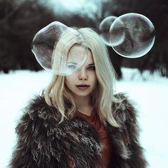 """New Galaxies"" — Photographer: Nora Drugan Model: Маша Сидорова (Masha Sidorova)"