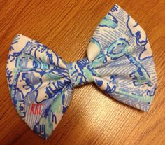 Lilly Pulitzer Sorority Hair Bows