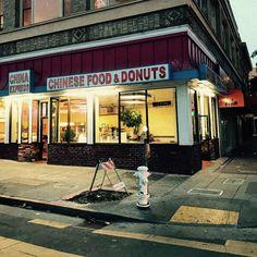 #cinqmars #sfo #chinesefood #donuts #streetphotography