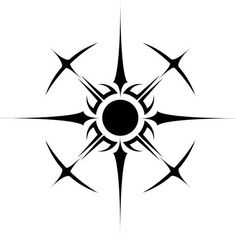 Sol by chrishelenius Tattoo Drawings, Body Art Tattoos, Tribal Tattoos, Small Tattoos, Tatoos, Art Drawings, Tribal Tattoo Designs, Typographie Logo, Magic Symbols