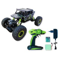 SIVA Rock Crawler Basher, 2.4 GHz Outdoor Power Equipment, Monster Trucks, Rock, Vehicles, Car, Autos, Automobile, Skirt, Rolling Stock