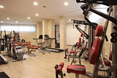 Marconfort #Benidorm Suites #GYM - 70's 80's & 90's music themed hotel www.marconfort.com