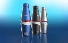 Karim Rashid concept aluminium bottle for Pepsi 2012