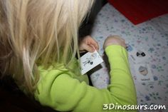 Fishing for Words: See a fun way to use different cards and use fine motor skills at the same time. 3Dinosaurs.com
