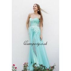 2014 Chiffon Strapless Draped Long Prom Dress With Lace Appliques