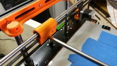 Fix Gantry X axis support shoud use and from Ultimaker clone design on both si 3d Printer Kit, Induction Heating, 3d Printer, Printing