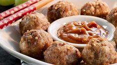 Bulgogi Meatballs Recipe   Allrecipes Korean Bbq Meatballs, Beef And Pork Meatballs, Korean Bulgogi, Food Wishes, Toasted Sesame Seeds, Peanut Sauce, Peppers And Onions, Food Reviews