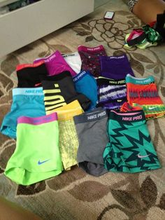 Get in shape so I can buy all the cute athletic wear