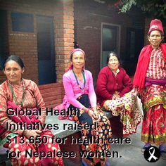 GHI raised $13,650 to bring health care to women in Nepal!