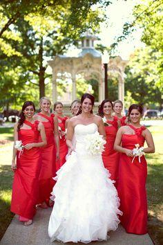 Looks like my bridesmaids dresses :)))))