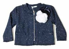 f042e66e7 Chaqueta azul marino para niña de Y-Clù. Adrielsmoda · OUTLET MODA INFANTIL