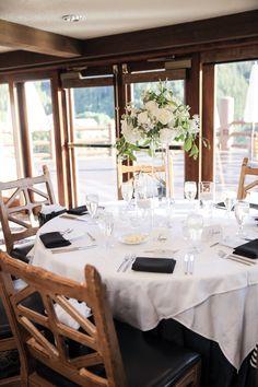 Picture perfect and posh at Glitretind Restaurant. Location: Stein Eriksen Lodge #steinweddings