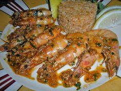 Shawna's Food and Recipe Blog: Camarones al Mojo de Ajo y Anejo Tequila