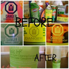 Throwing away toxic cleaners. Double Click this Pin for Details.  Shaklee products are safe and NON TOXIC!