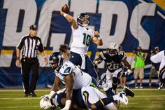 This is how you block if your a Seahawk!  And stay down!