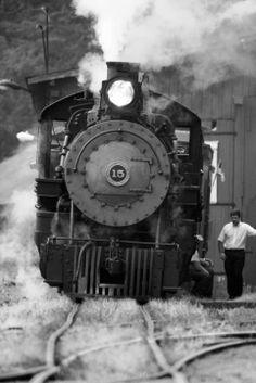 Steam Locomotive, East Broad Top, Pennsylvania.