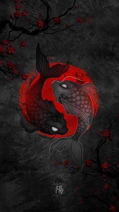 Koi Fish Japan iPhone Wallpaper - iPhone Wallpapers