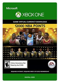 12000 NBA Points to redeem for NBA LIVE Ultimate Team packs (10000 + 2000 Bonus Points). NBA LIVE ULTIMATE TEAM...