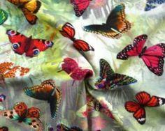 Digital print butterfly