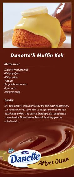 Danette'li Muffin Kek