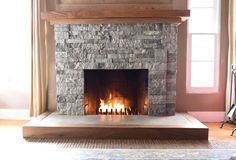 AirStone-fireplace-makeover.-How-to-turn-your-old-brick-fireplace-into-a-beautiful-stone-fireplace-with-AirStone.-1.jpg (1280×869)