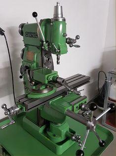 Cnc Lathe, Lathe Tools, Old Tools, Milling Machine, Machine Tools, Drill Press Mill, Metal Working Machines, Metal Mill, Hobby Room