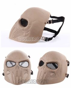 Punisher Cool Airsoft Mask(DE)
