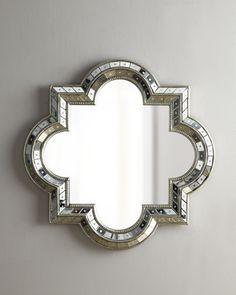 Quatrefoil Mirror - Horchow