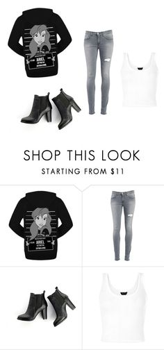 """outfit"" by peace-girl23 on Polyvore featuring Disney, Dondup and SWEET MANGO"