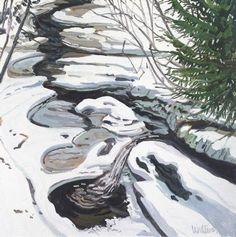 Étude pour la tête de Passagassawaukeg, huile sur toile de Neil Gavin Welliver (1929-2005, United States)