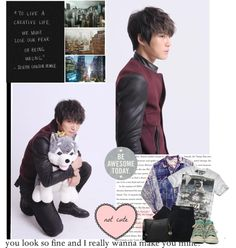 """""""Jaejoong"""" by never-look-away ❤ liked on Polyvore"""