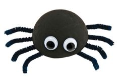 Styrofoam Spider Craft Activity