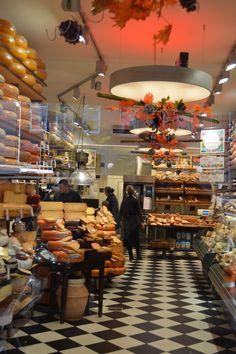Kaaswinkel, Amsterdam - how I miss the weekly experience of shopping in my neighborhood kaaswinkel