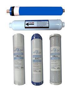The Water Filter Men Reverse Osmosis 5 Stage Water Filter System Filter Complete Replacement Filter Cartridge Set
